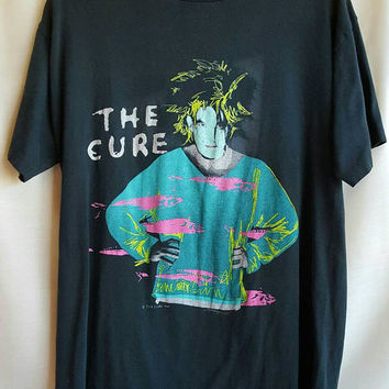 The Cure - Beach Party - Vintage Shirt - T Shirt - 1986