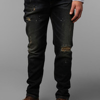 Urban Outfitters - Standard Cloth Dark Damage Skinny Jean