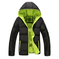 Casual Hooded Thick Padded Bubble Jacket