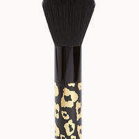 Leopard Face Brush