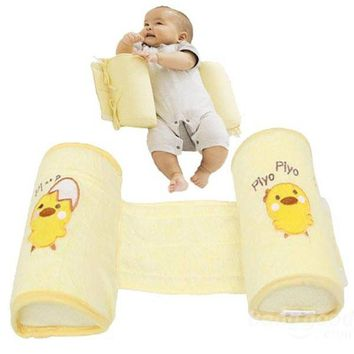 Safe Cotton Anti Roll Pillow Sleep