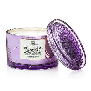 VOLUSPA AURANTIA & BLACKBERRY-CORTA MAISON CANDLE WITH LID
