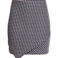 Textured Jersey Skirt - from H&M