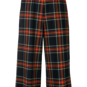 DCCKIN3 P.A.R.O.S.H. Plaid Cropped Trousers