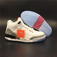 "Air Jordan 3 NRG ""Free Throw Line"" 923096-101 Size 7.5-14"