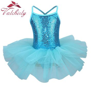 New Toddlers Ballet Tutu Dress Ballerina Dress Kids Good Gift Girls Dance Costume