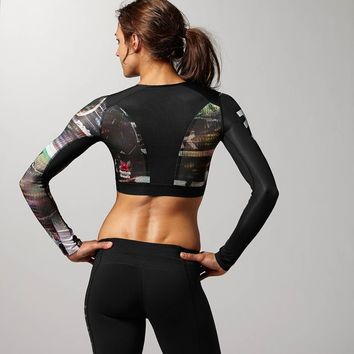 REEBOK CROSSFIT COMPRESSION CROP TOP
