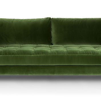 Sven Grass Green Sofa