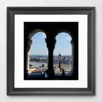Budapest Framed Art Print by Lynn Bolt