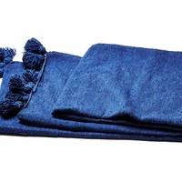Kesh Throw, Blue