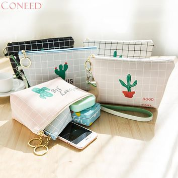 CONEED Fashion Girls Cosmetic Bags Charming Women Girl Cute Sanitary Pad Organizer Holder Napkin Towel Convenience Bags Juy3