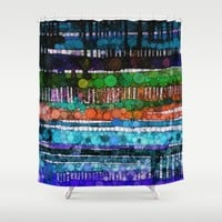 :: Hypnotic :: Shower Curtain by :: GaleStorm Artworks ::