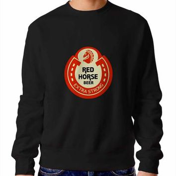 Red Horse Beer Sweater / Unisex Sweater