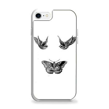 Birds And Butterfly Tattoos iPhone 6   iPhone 6S Case