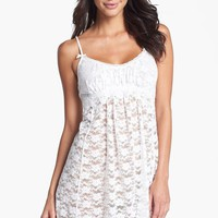 Women's In Bloom by Jonquil Stretch Lace Chemise