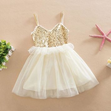 Girls  Sequin party dress