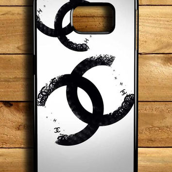 Chanel Typography Samsung Galaxy S6 Edge Case