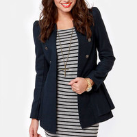 Shaded Creek Navy Blue Coat