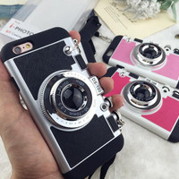 Camera Case Cover for iPhone 7 7 Plus & iPhone 5s se + iPhone 6 6s Plus + Gift Box-63