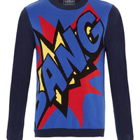 Blue Bang Sweater - Men's Cardigans & Sweaters - Clothing