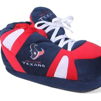 Houston Texans Mens and Womens Sneaker Slippers