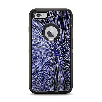 The Purple Zooming Lights Apple iPhone 6 Plus Otterbox Defender Case Skin Set