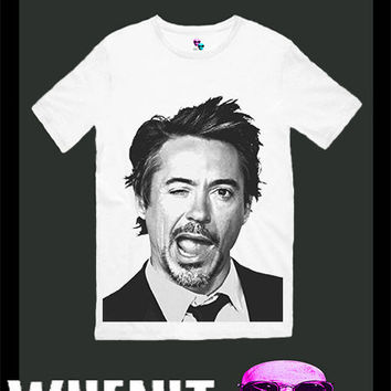 worldwide shipping just 7 days Robert Downey Jr men t shirt 30246
