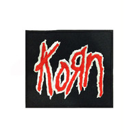 Korn Music Band Logo II Embroidered Iron Patches