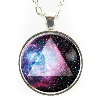 Galaxy Triangle Necklace, Rosette Nebula