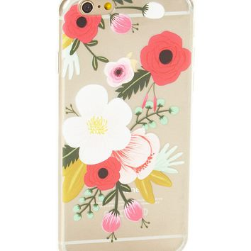 Clear Full Bloom Soft Case for iPhone 7