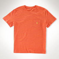 CLASSIC-FIT COTTON POCKET TEE