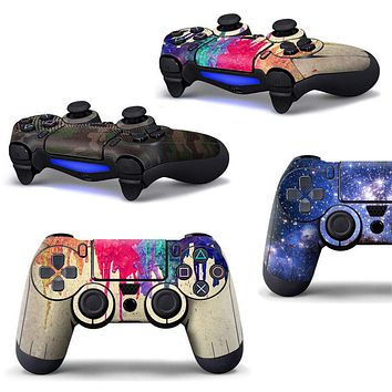 Full Cover Sony Playstation 4 Controller Stickers
