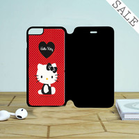Hello Kitty Red Iphone 6 | 6 Plus Flip Case