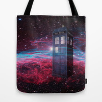 Dr Who police box  Tote Bag by Store2u