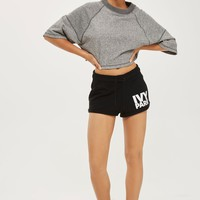 Logo Jersey Shorts by Ivy Park | Topshop