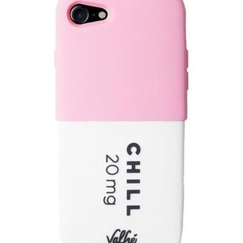 Chill Pill 3D iPhone Case (Pink)