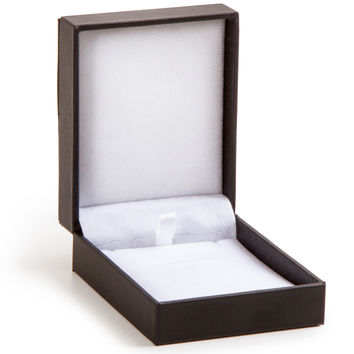 "Jewelry Box 4""""X3""""X1.25""""-Black Velvet"