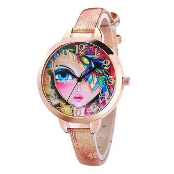 MakeUp Face Watch