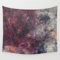 acrylic grunge Wall Tapestry by VanessaGF