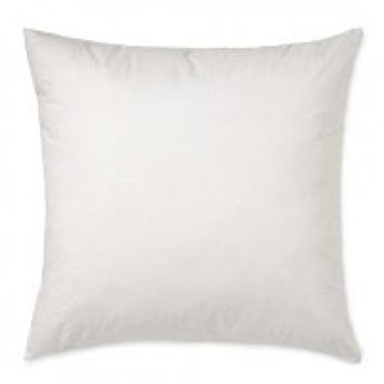 ALL SIZES - SET OF 2 - SQUARE PILLOW INSERT- 400TC COTTON COVER