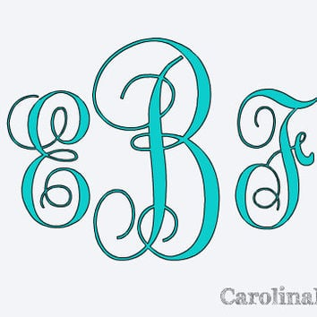 car decal monogram decal monogram vinyl vinyl decal monogram