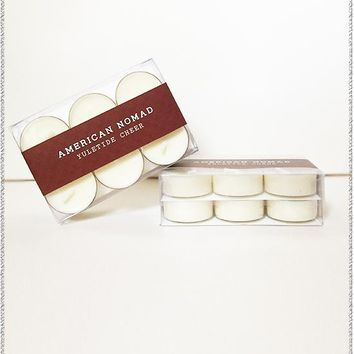 Yuletide Cheer Soy Tea Light Candles | Set of 12