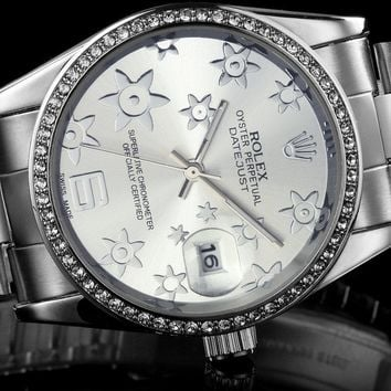 Rolex tide brand watches fashion watches F-SBHY-WSL Silver