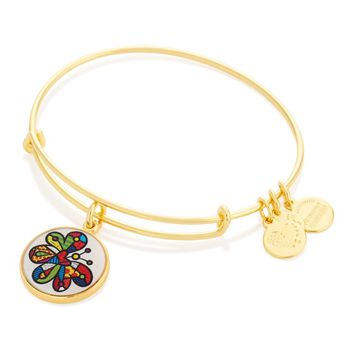 Butterfly Art Infusion Charm Bangle