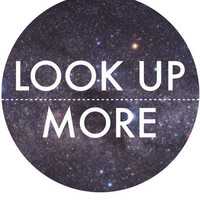 $15.00 Look Up More Art Print by The Sea or You | Society6
