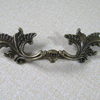 "3"" 76 mm Dresser Drawer Pulls Handles Antique Bronze / Rustic Kitchen Cabinet Handle Pull Old Vintage Furniture Decorative Hardware 527"