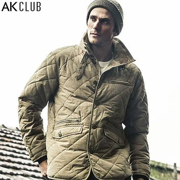 Parka Cotton Nylon Windbreak Water Resistant Army Combat Uniform Military Style Parka Waterproof Men Parka