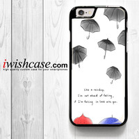Disney Pixars The Blue Umbrella for iPhone 4 4S 5 5S 5C 6 6 Plus , iPod Touch 4 5  , Samsung Galaxy S3 S4 S5 S6 S6 Edge Note 3 Note 4 , and HTC One X M7 M8 Case