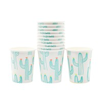 Cactus Party Cups - 10 Ct