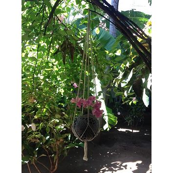 Macrame Plant Hangers, Hanging Planter, Plant Hangers, Hanging Plant Holders, Hanging Plants, Macrame Plant Holder, Hanging Basket Plants, Hanging Basket - Socially Positive